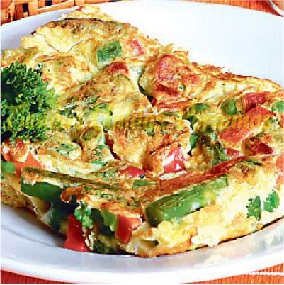 Torilla con Verduras | Chifa Delivery  - Cod:WTS01