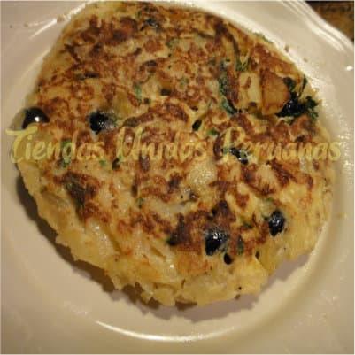 Tortilla con Balsamina | Chifa Delivery  - Whatsapp: 980-660044
