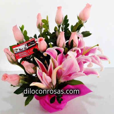 Arreglos de Rosas | Envio de Rosas Peru - Cod:XBR03