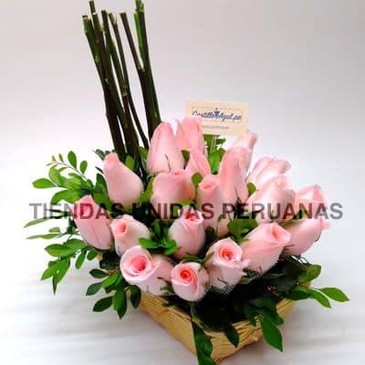 Arreglos con Rosas | Arreglo de Rosas - Cod:XBR05