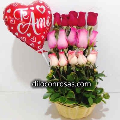 Arreglos con Rosas | Florerias Peru | Rosas Peru - Cod:XBR06