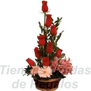 Arreglos con Rosas | Arreglos Florales en Lima - Cod:XBR11