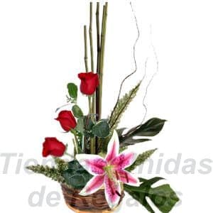 Arreglo de 3 Rosas | Arreglos Florales | Arreglos con Rosas | Florerias Peru - Cod:XBR16