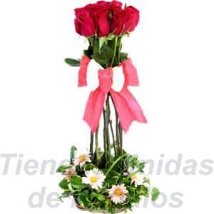 San Valentin Topiario de Rosas - Cod:SBR09