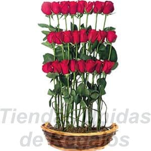 Arreglo de Rosas 24 | Arreglos florales lima - Whatsapp: 980-660044