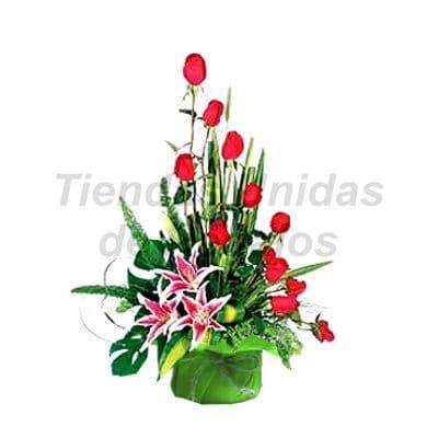 Arreglo de Rosas 28 | Arreglos florales lima - Whatsapp: 980-660044
