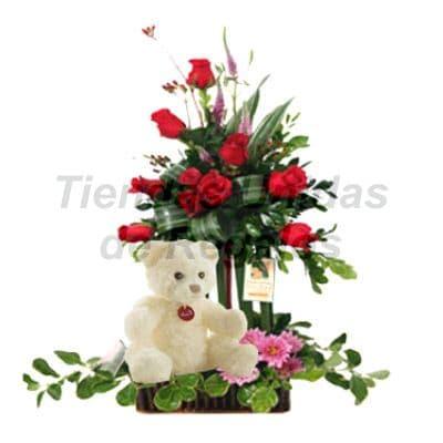 Arreglos Florales con Osos - Cod:XBR31