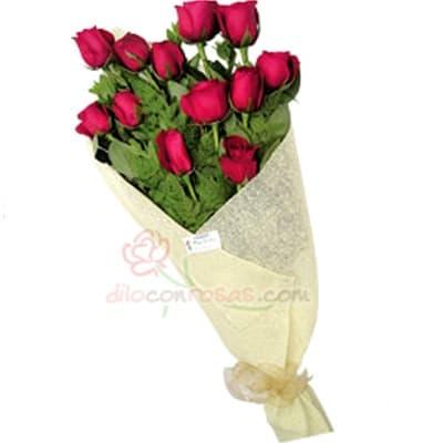 Arreglo de rosas 39 | Ramo de Rosas Delivery - Cod:XBR39