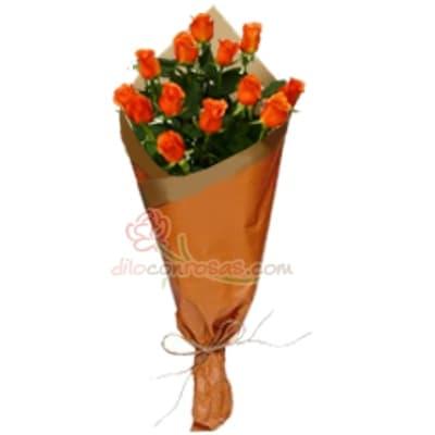 Arreglo de rosas 41 | Ramo de Rosas Delivery - Cod:XBR41