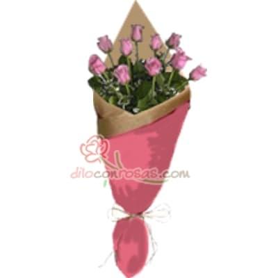 Arreglo de rosas 43 - Whatsapp: 980-660044