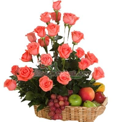 Arreglo de rosas 44 | Florerias en Lima - Cod:XBR44