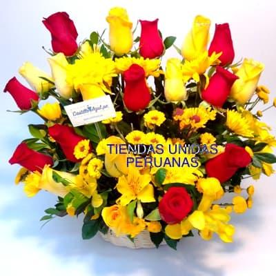 Arreglo de rosas 45 | Florerias en Lima - Cod:XBR45