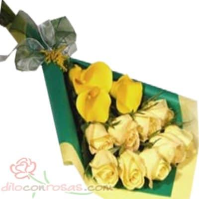 Arreglo de rosas 47 | Florerias en Lima - Cod:XBR47