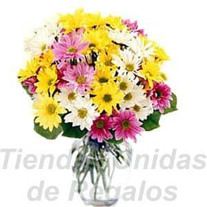 Florero 06 | Arreglos florales en Floreros de Vidrio | Floreros con Rosas - Cod:XFR06