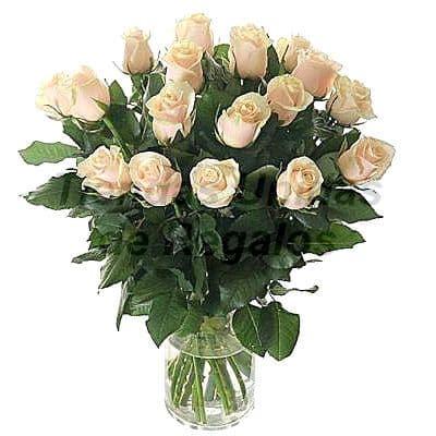 Florero 10 | Arreglos florales en Floreros de Vidrio | Floreros con Rosas - Cod:XFR10