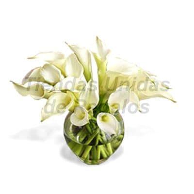 Florero 13 | Arreglos florales en Floreros de Vidrio | Floreros con Rosas - Cod:XFR13