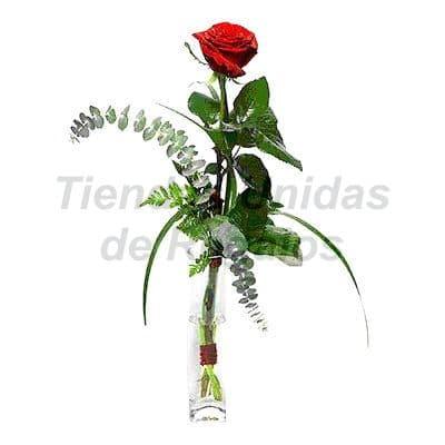 Florero 15 | Arreglos florales en Floreros de Vidrio | Floreros con Rosas - Cod:XFR15