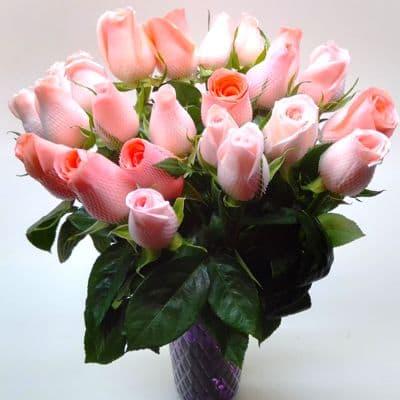 Florero 30 | Arreglos florales en Floreros de Vidrio | Floreros con Rosas - Cod:XFR30