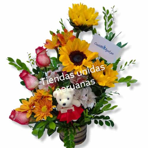 Girasoles Arreglos - Whatsapp: 980-660044