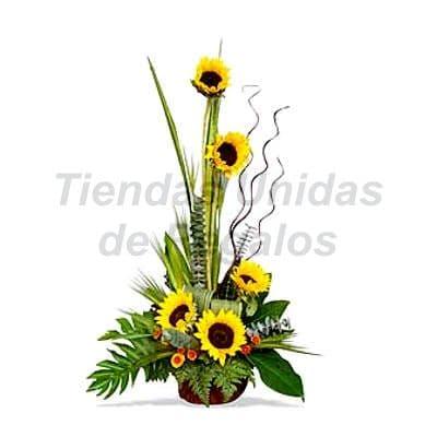 Arreglo de  Girasoles 14 | Arreglo de  Girasoles | Arreglos Florales con Girasoles | Arreglo de Gira - Cod:XGR14