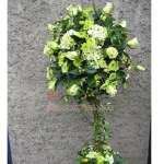 Arreglo para Aniversario con Flores Blanco | Arreglos Florales para Eventos - Cod:AGP01