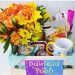 Desayunos personalizados y temáticos | Desayuno Winnie Pooh con taza - Cod:AMB04