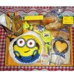 Desayunos Temáticos Delivery Lima | Desayuno Minions Personalizado - Cod:AMB05