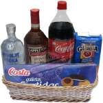 Ron | Ron - Licoreria Delivery en Lima | Canasta con Ron y Vodka - Cod:ANN04