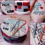 Torta de Arquitectos | Torta para Arquitecto - Cod:ARQ18