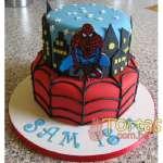 Torta Hombre Araña | Torta del Hombre araña - Cod:AVC04