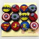 Avengers | Cupcakes Avengers - Cod:AVC12