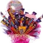 Regalos de Nacimiento a Domicilio | Chocolates para Regalar por Nacimiento - Cod:BBE10