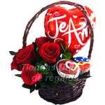 Florerías Matrimonio Lima | Cupcakes Delivery | Arreglos de globos | Rosas Lima - Cod:ENL04
