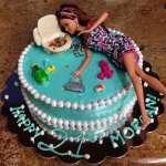 Pastel de Barbie  | Torta Barbie | Tortas de cumpleaños | Tortas Cumpleaños - Cod:BRE07