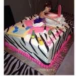 Pastel Barbie | Torta Barbie | Tortas de cumpleaños | Tortas Cumpleaños - Cod:BRE08