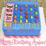 Tortas Candy crush | Torta de Candy Crush | Pastel de dulces - Cod:CCS01