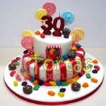 Torta Candy Crush 04 | Torta de Candy Crush | Pastel de dulces - Cod:CCS04