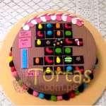 Torta Candy Crush 07 | Torta de Candy Crush | Pastel de dulces - Cod:CCS07