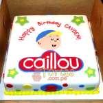 Torta caillou | Tortas Caillou - Cod:CLL01