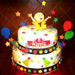 Torta de tematica de Caillou | Torta caillou  - Cod:CLL04
