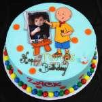 Torta Caillou redonda | Torta caillou  - Cod:CLL10