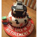 Torta a contador | Torta de Contador Accounter Cake - Cod:CND10