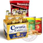 Canasta para regalar con Cerveza Corona | Canasta para Regalo - Cod:CNJ09
