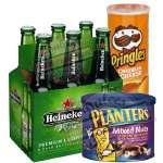 Arreglo con Cervezas | Canasta para Regalo - Cod:CNJ10