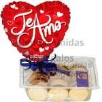 Alfajores y Globo por el dia de las Madres | Alfajores Delivery - Cod:DMA02
