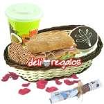 Desayunos a Domicilio | Desayunos de Cumpleaños a Domicilio para Hombres - Cod:DEL01