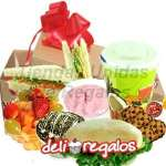 Dulce Sorpresa Desayunos | Desayuno para novia Vegetariana - Cod:DSV15