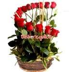 Rosas Importadas | Arreglo de 16 Rosas Importadas | Arreglos a Domicilio - Cod:ARL03