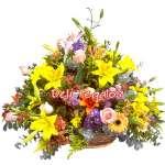 Arreglo de Flores Amarillas | Arreglos Floral Delivery | Floreria a Domicilio - Cod:VAT29