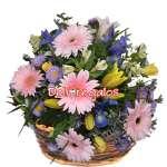 Arreglos Florales a Domicilio | Arreglo Con flores Rosadas - Cod:VAT33